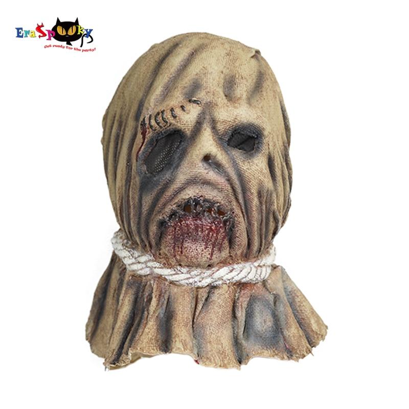 Realistic Halloween Costumes 2020 Eraspooky 2020 Horror Realistic Scarecrow Masks Cosplay Halloween