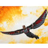 SHF Avengers Infinity War Falcon Sam Wilson PVC Action Figure Collectible Model Toy