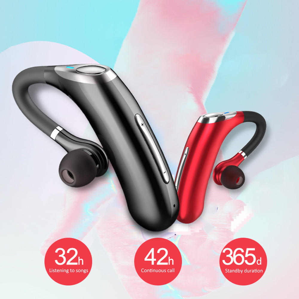 cheapest New Business Wireless Bluetooth Earphone M50 Headset IPX7 Waterproof Earbuds Noise Reduction Music Earpiese With Mic For Driver