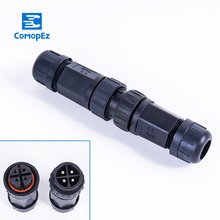 Waterproof Connector 20A IP68 Underground Junction Box for 2 3 4 5 6 7 8 9-pin Cables 8-10.5mm Outdoor Led Light Wire Use