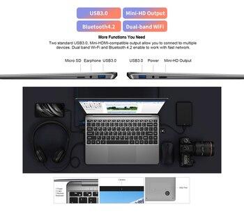 """Teclast F7 Plus 14.1"""" Laptop 8GB/12GB RAM 256GB SSD Intel Gemini Lake N4100 1920 x 1080 FHD Windows 10 Backlit Keyboard Notebook 6"""