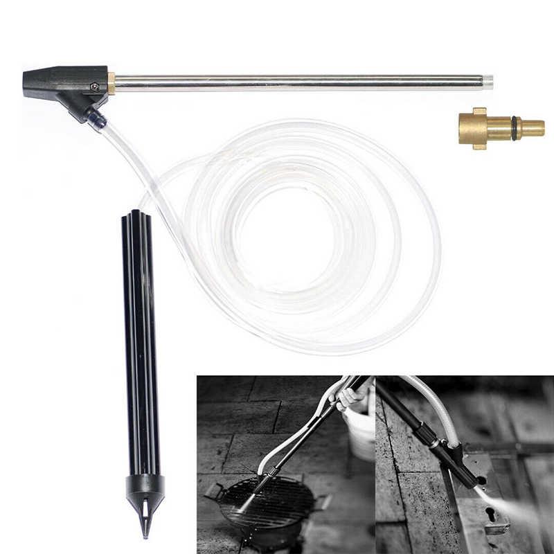 Zandstralen hogedrukreiniger Tool Blast Nozzle Nat Tuin Kit Rubber staal Voor nilfisk serie