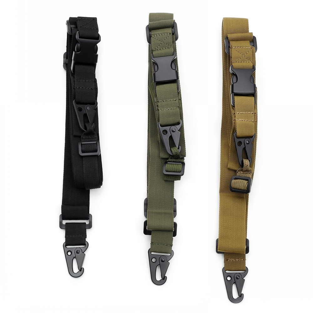 Abay Tactical Gun Sling 3 Point Bungee Airsoft Rifle Strapping Belt Military Shooting Hunting Accessories Three Point Gun Strap