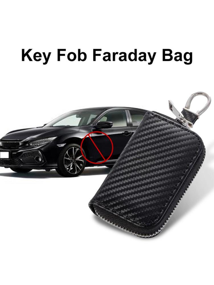 Чехол для ключей Автомобильный блокировщик сигнала RFID премиум-брелок для ключей коробка Faraday защита для клетки с защитой от кражи контейнер...