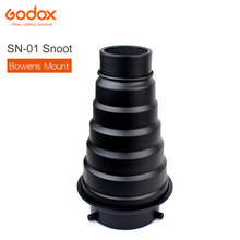 GODOX Foto studio kit SN 01 Bowens Montieren große Snoot Professional Studio licht Armaturen