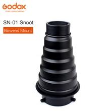 GODOX kit de estudio fotográfico, SN 01, Bowens, montaje grande, accesorios de luz para estudio profesional