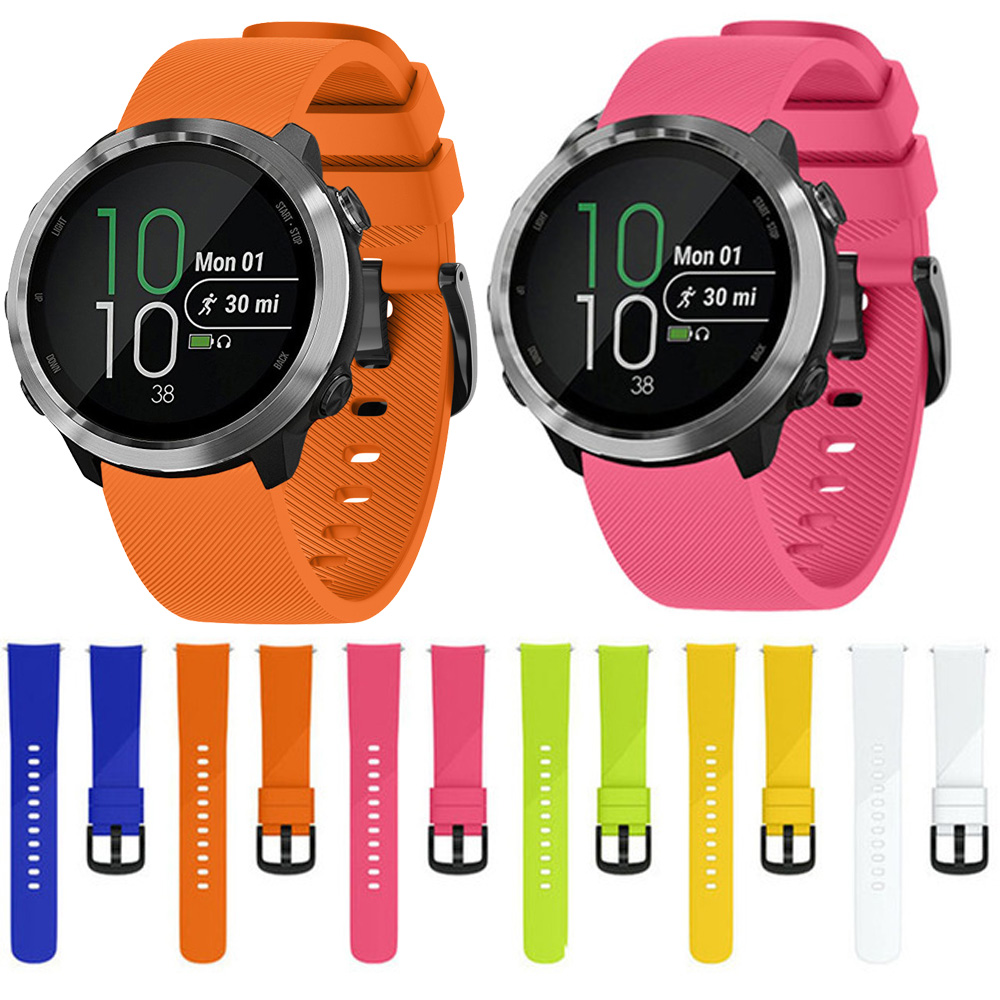 For Garmin Forerunner 245 245M 645 Vivoactive 3 Smart Bracelet Watch Band Colorful Wristband Sport Silicone Watchband Strap