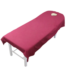 Bed-Sheets Massage Salon Beauty-Bed Home-Textile Spa with Hole for 80cm--190cm Polyester