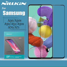 Nillkin Protezione Dello Schermo di Vetro per Samsung Galaxy A30 A30s A50 A50s A51 A70 A71 Vetro Temperato 2.5D Copertura Completa di Sicurezza di Vetro