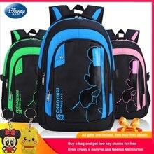 Disney 2019 Minnie Mickey Backpack SchoolBag Fashion Cartoon  Kindergarten Girl Travel Bag Student Classic