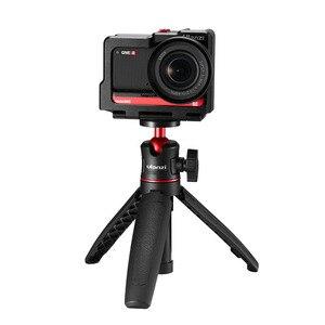 Image 4 - Ulanzi Insta360 One R Kim Loại Vlog Lồng Ốp Lưng Kéo Dài Giày Lạnh Cho Đèn LED Micro