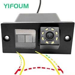 YIFOUM, динамическая траектория, Автомобильная камера заднего вида для hyundai Grand Starex Royale i800 H1, H-1, для путешествий, карго, iLoad iMax H300