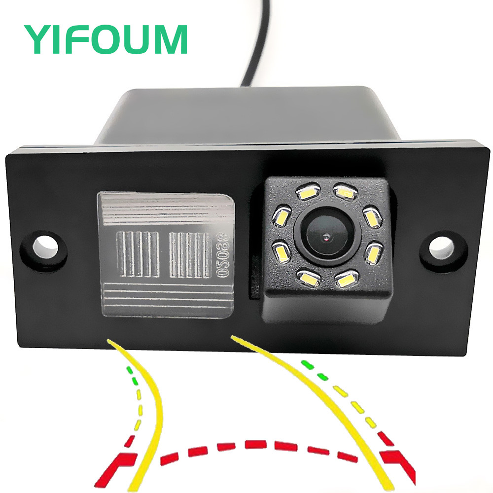YIFOUM Dynamic Trajectory Tracks Car Rear View Camera For Hyundai Grand Starex Royale I800 H1 H-1 Travel Cargo ILoad IMax H300