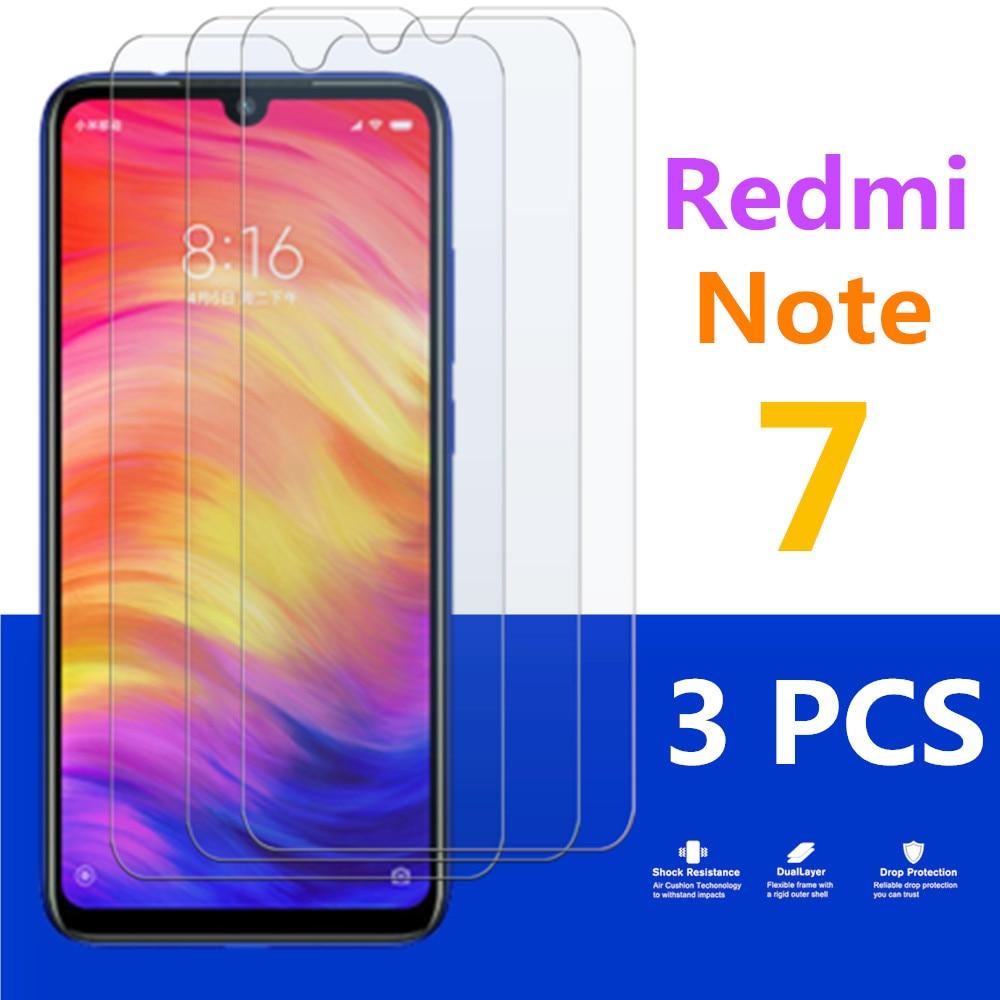 Ksiomi Redmi Note 7 Protective Glass On For Xiaomi Remi Note7 Glas Tempered Not Screen Protector Xaomi Redminote7 Xiami Xiomi