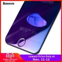 Baseus 0.23 MM Protecteur D'écran En Verre Trempé Pour iPhone 7 6 6 s Plus Doux 3D Courbe Pleine Couverture De Protection Trempé Verre Film