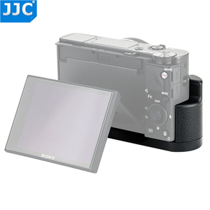 Image 3 - JJC Quick Release L Plate Hand Grip For Sony RX100 VI RX100 VA RX100 V RX100 IV RX100 III RX100 II Replaces Sony AGR2 Holder