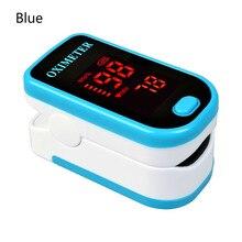 CYSINCOS  Finger Oximeter With Case Fingertip Oximetro De Pulso Dedo LED Oximeters Saturator Pulsioximetro
