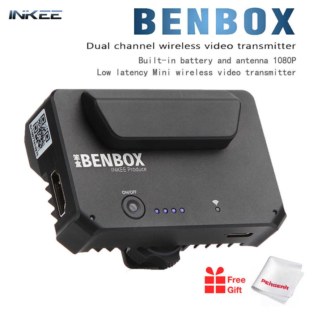 Inkee Benbox Mini Hdmi Transmetteur Video Sans Fil 2 4g 5g Appareil Video Transmetteur D Image Pour Dslr Ios Iphone Ipad Telephone Android Aliexpress