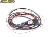 AIDUATO For VW CarPlay MDI MIB 2 DIS PRO UNIT RADIO USB AMI Install Plug Socket Switch Button Harness 5Q0 035 726 E