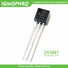 20PCS 2N5087 5087 Transistor ZU 92 FET Neue Original