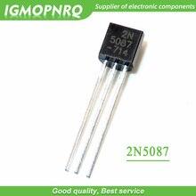 ترانزيستور TO 92 FET جديد وأصلي 20 قطعة 2N5087 5087