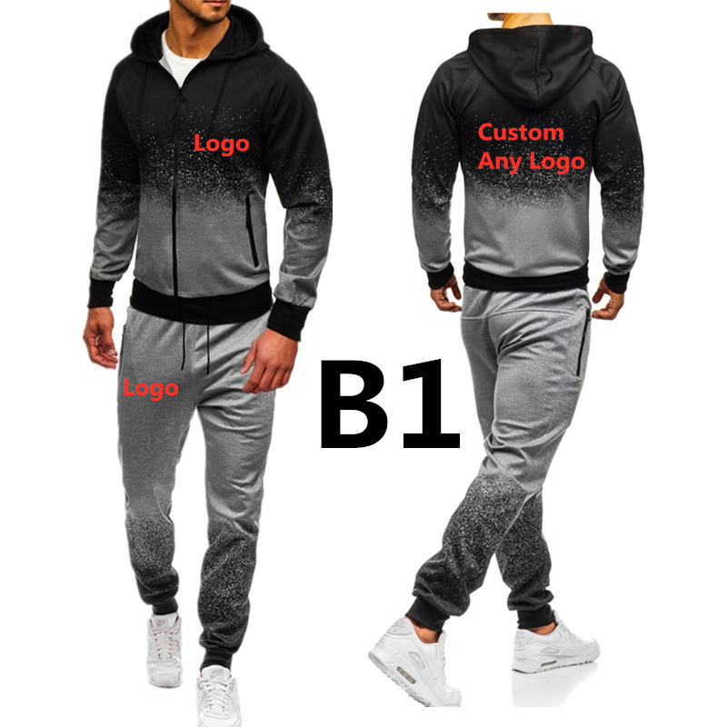 B1 B5 For Men's Print Brand Car Logo Set Spring Autumn Outdoor Sport Suits Camouflage Ride Pants Mens Hoodies Jacket Hoodies