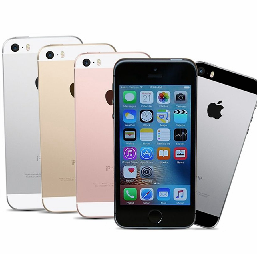 Dual-core Apple Iphone SE A1662 A1723 16GB 32GB 64GB ROM 2GB RAM Unlock Used Mobile Cell Phone