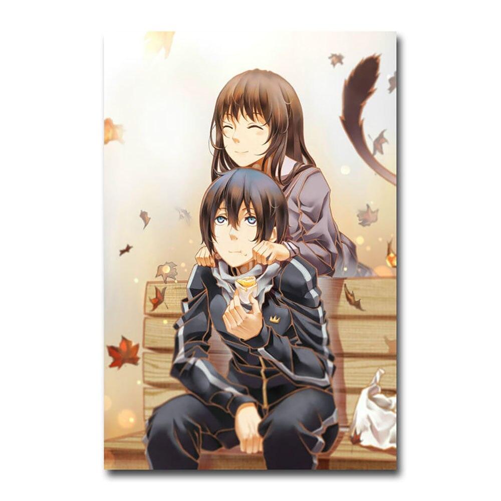 Poster A3 Noragami Yato Hiyori Yukine Manga Anime Cartel Decor Impresion