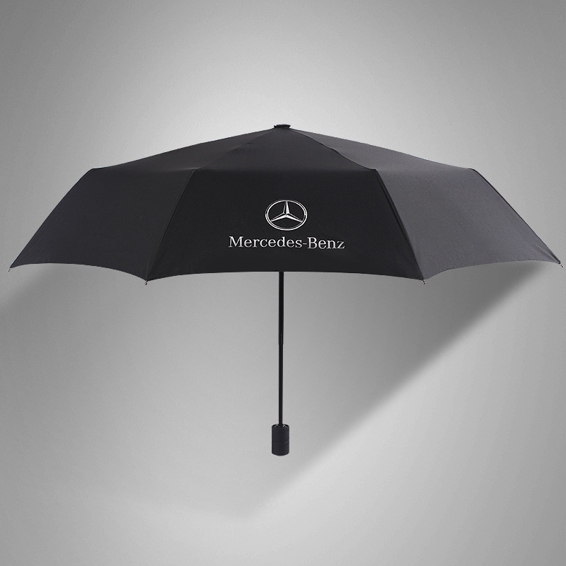 2016 New Style Tire Handle Manual Three Fold Folding Umbrella Gift Umbrella Advertising Umbrella Customizable Logo