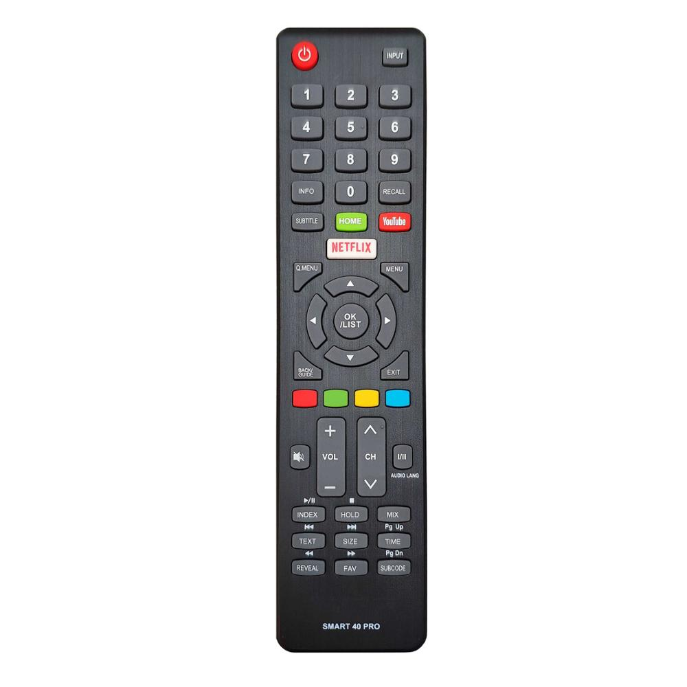 New remote control for dyon Smart <font><b>40</b></font> Pro LED-TV Netflix Youtube controller image