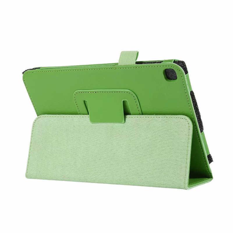 "Folio PU Kulit Case untuk Samsung Galaxy Tab A8 dengan S Pen 2019 8.0 ""Inch Tablet Cover UNTUK Samsung SM-P200 SM-P205 Fundas Capa"