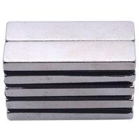 100PCS 40 X 10 X 4 Mm Big Strong Rectangle Block Bar Fridge Magnets Rare Earth Neodymium Magnet