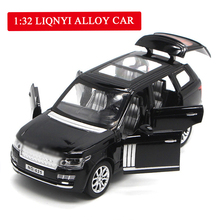 1:32 High Simulation Exquisite Collection Toys: Car Styling Range Rover SUV Model Alloy Best Gifts