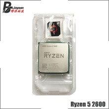 Amd ryzen 5 2600 r5 2600 3.4 ghz seis núcleo processador cpu de doze linhas yd2600bbm6iaf soquete am4