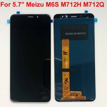 "Original New For 5.7"" Meizu M6S Meilan S6 Mblu S6 M712H M712Q LCD Screen Display+Touch Panel Digitizer Assembly For M6s Mblu S6"