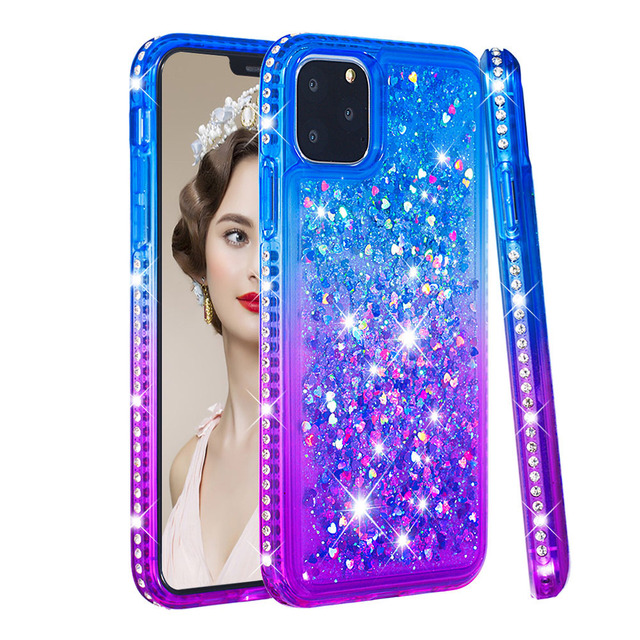 Bling Diamond Rhinestone Girls Case for iPhone 11/11 Pro/11 Pro Max
