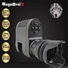 Megaorei – jumelles monoculaires 3 Pvs à 14 Vision nocturne, Laser infrarouge IR, dispositif de lunettes, fusil militaire, objectifs pour la chasse