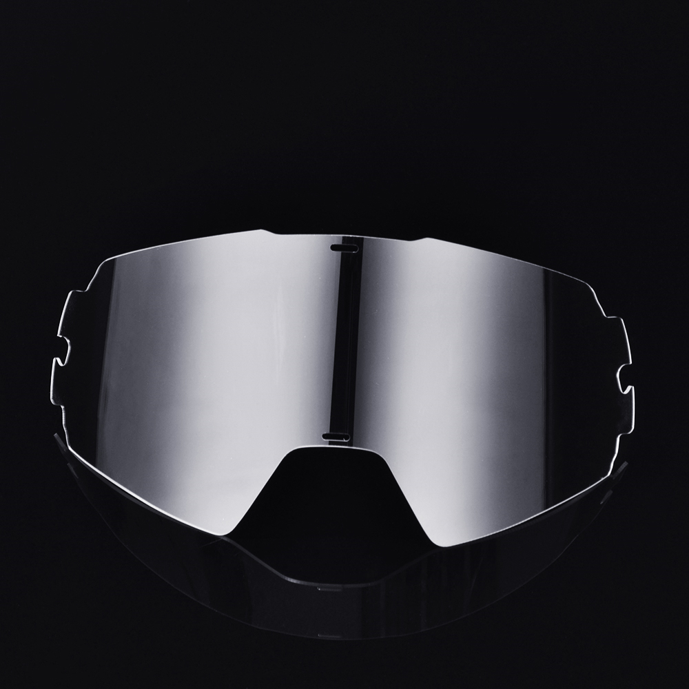 JAER Motorcycle Helmet Glasses Glass MX Motocross Dirt Bike Spectacles Bike Goggles Clear Color Lens Replacement Goggles Film