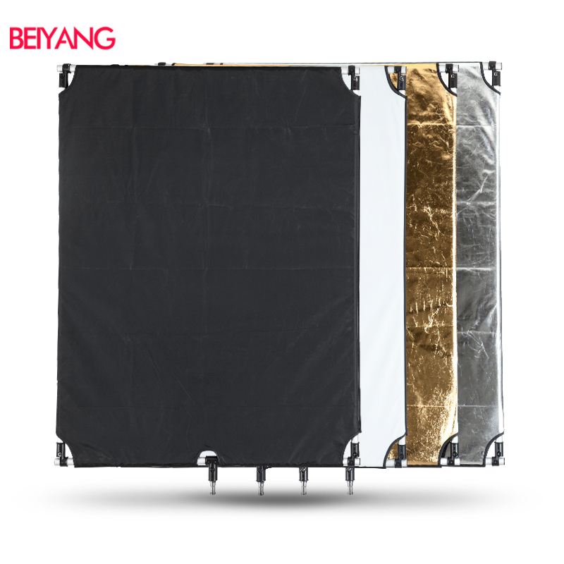 Photographic Reflector 90x120cm Collapsible Reflector 5-in-1 Portable Multi-camera Illumination Reflector Diffuser Kit With Carrying Case For Photographic Video Recording for Photography Photo Studio
