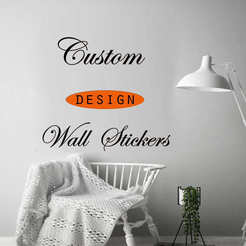 Custom Design Vinyl Wall Stickers , Please Contact Us And Inform Us Of Your Requirements Before Placing An Order