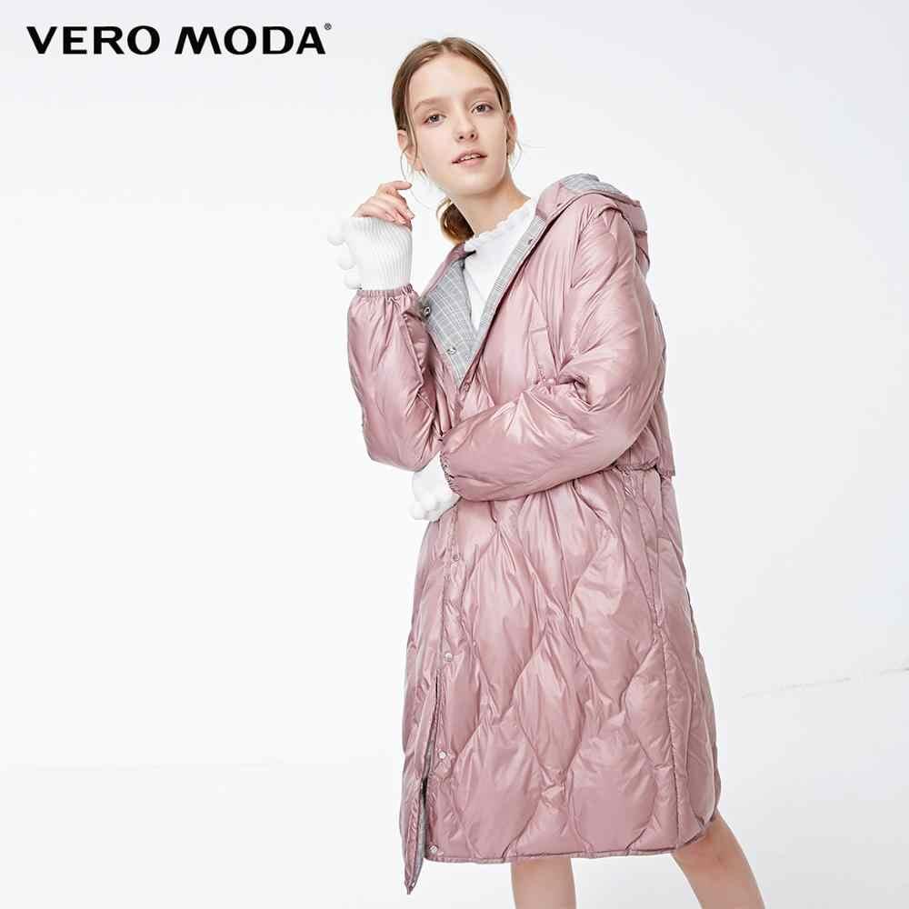 Vero Moda damska nowa z kapturem, na suwak przycisk urządzone znosić dopełnienie kurtka płaszcz z kapturem   318422503