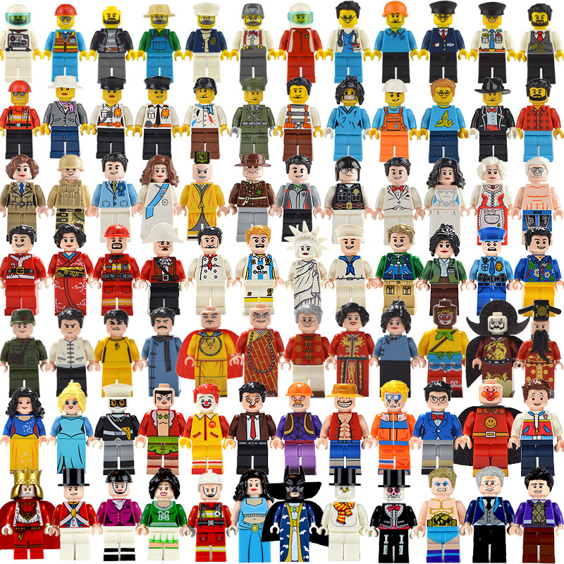 Compatible Legoings Military SWAT Police City Minifigs Model Building Kits 2020 New Legoing Technic City Friends Police Figures
