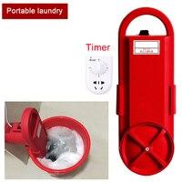 미니 세탁기 휴대용 세탁기 가정용 미니 청소 기계 timed 세탁기 부품 220 v/110 v 150w qpc