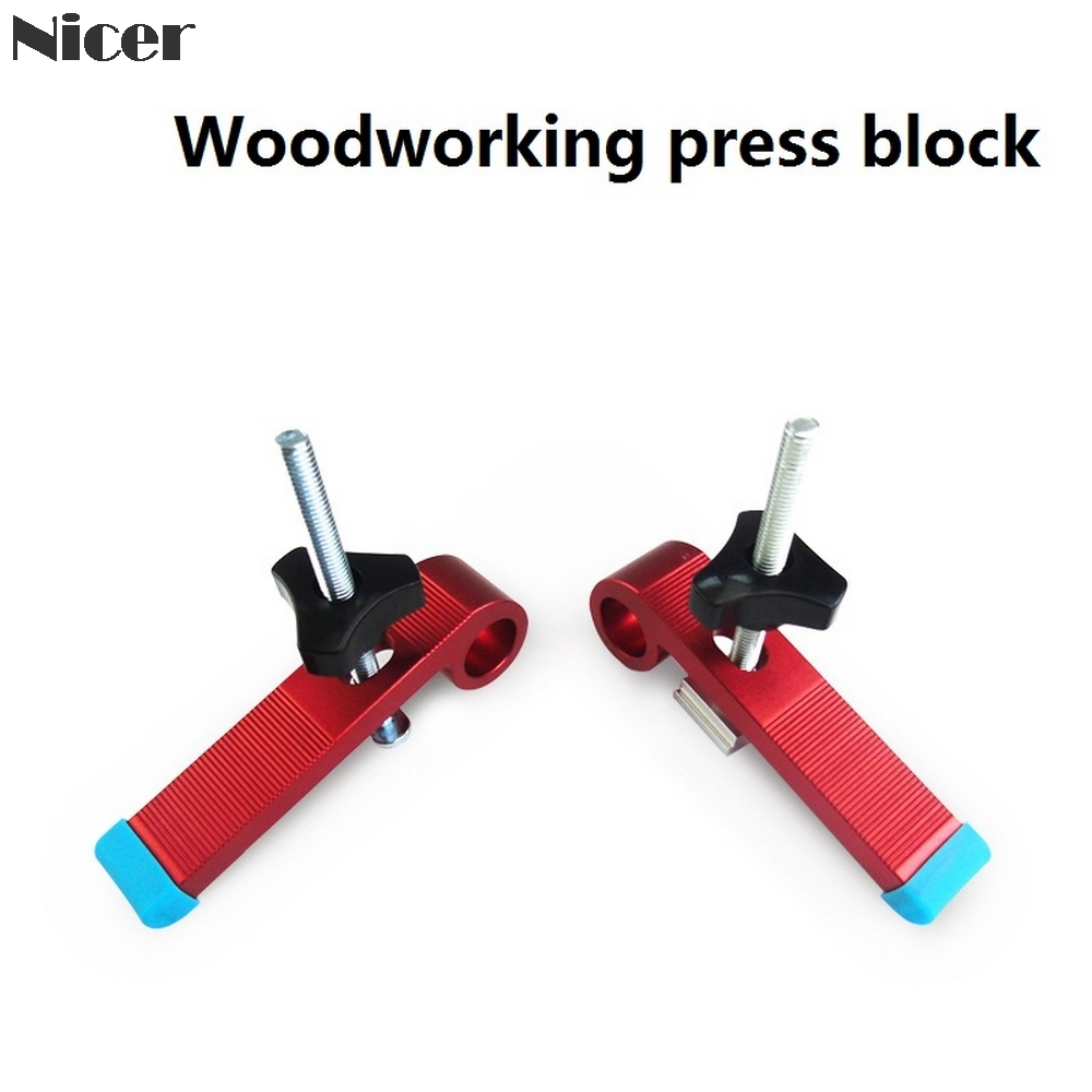 8MM Metal Quick Acting Hold Down Clamps For Woodworking T-Track T-Slot Clamp Tools DIY Carpenter Pressboard Clamp Pressure Block
