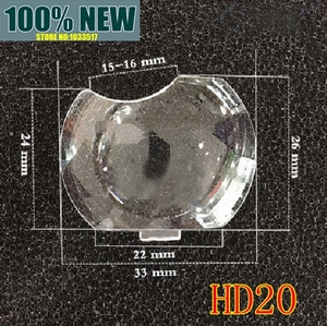 Image 1 - New for Optoma ES521 ES526 HD20 TS721 DT343 DM161 S2005 EX538 Projector lens plastic glass optical lens convex mirror