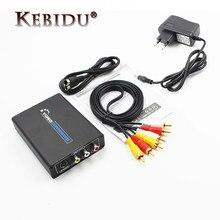 Hot HDMI zu AV S-Video CVBS Video Converter HD 3RCA PAL/NTSC Schalter HDMI zu SVIDEO + S VIDEO Switcher Adapter für TV PC Neueste
