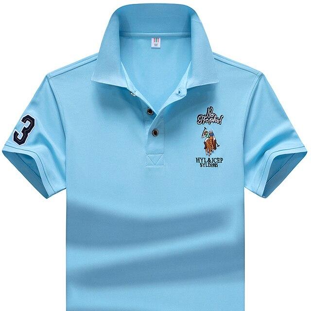 Polo Shirt Summer Brand Clothing Golf polo shirt Men Business Casual Male Polo Shirts Short Sleeve Breathable Soft Polo Shirt 5