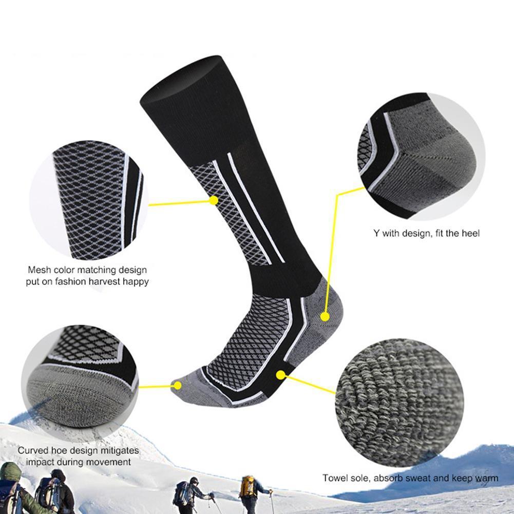 Ski-Socks Sporting-Accessories Snowboard Long Skiing Warm Outdoor Winter Cotton Women