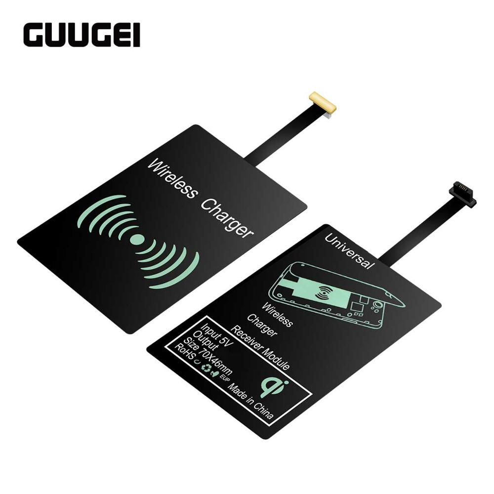 GUUGEI Charging-Receiver Qi-Pad-Module Huawei Universal Micro-Usb Wireless-Charger Mate30-Pro title=