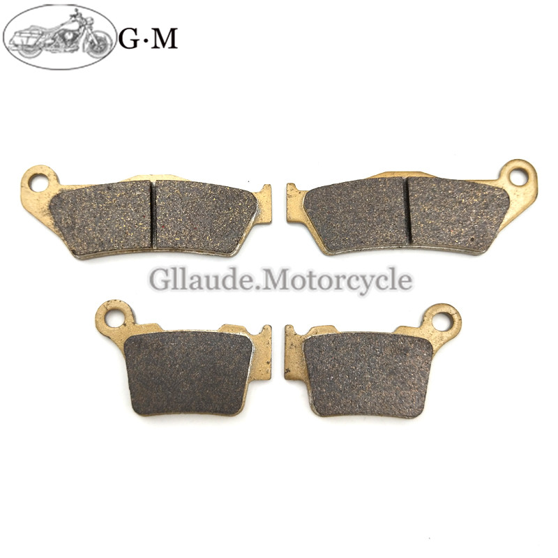 Motorcycle Front / Rear Brake Pads For HUSQVARNA CR TC TE TX 125/150/250/300/310/410/449 WR125 FC FX FE 250/350/450 501 510 511